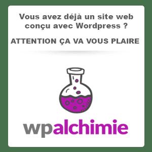 wordpress maintenance et sécurisation avec WP Alchimie